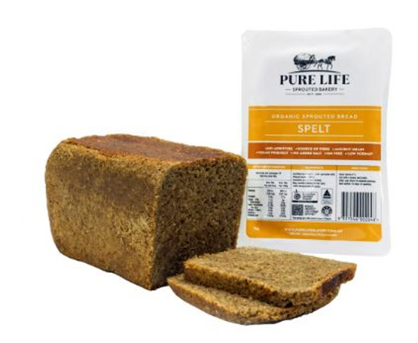 Pure Life Sprouted Bread Spelt, 1kg