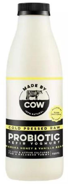 Made By Cow Cold Pressed Raw Jersey Milk, 750ml