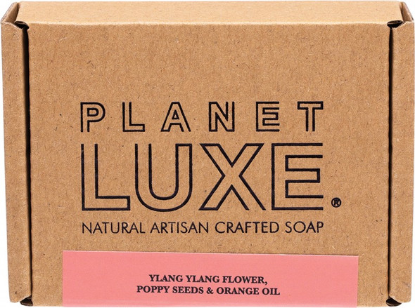 Planet Luxe Natural Artisan Crafted Soap Galaxy Ylang Ylang & Orange Oil 130g