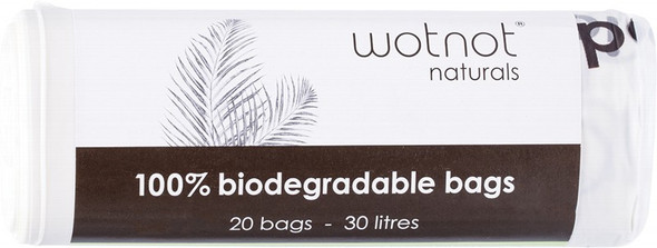 Wotnot Biodegradable Bags 30L 20 Wipes