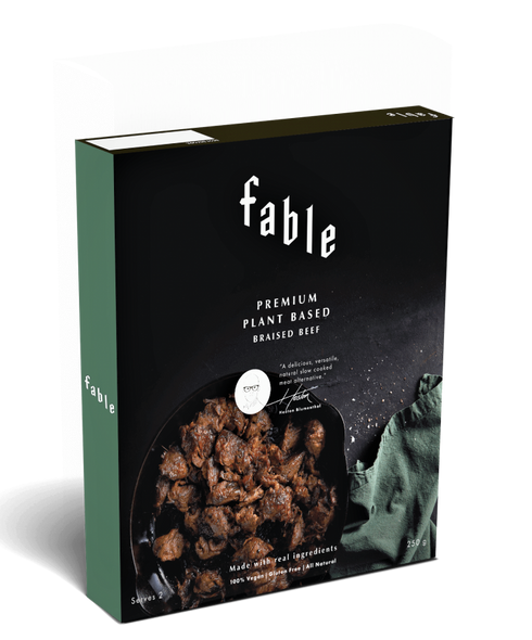 Fable Plant Based Braised Beef 250g x 6