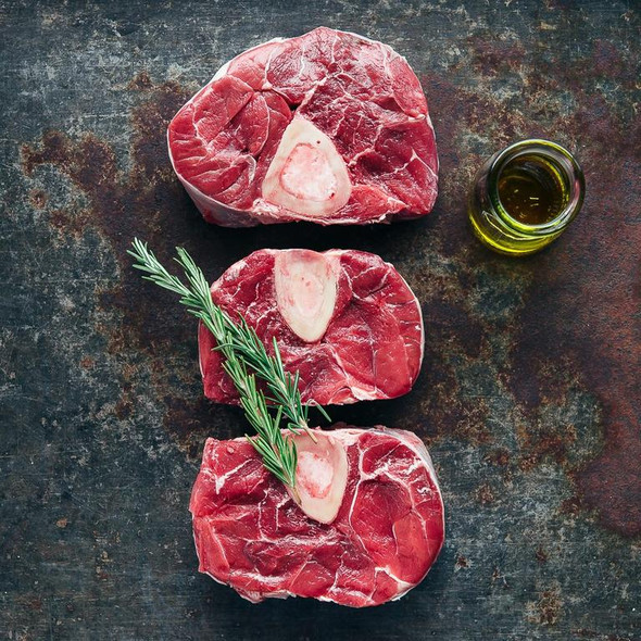 Shiralee Organic Beef Osso Busso (4Pcs) 800g