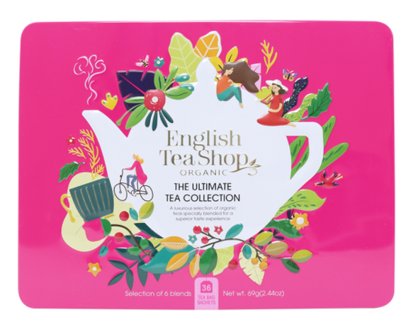 English Tea Shop Gift Pack the Ultimate Tea Collection Pink 36 Sachets