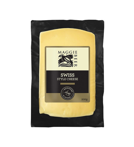 Maggie Beer Cheese Swiss Style 200g (Carton of 6)