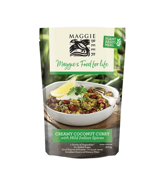 Maggie Beer Plant Based Meals - Coconut Curry 270g (Carton of 6)