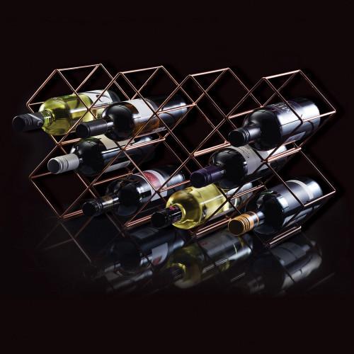 Copper Stackable Wine Rack