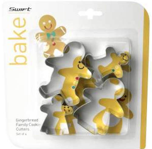 Dexam Gingerbread Family Cookie Cutters Set