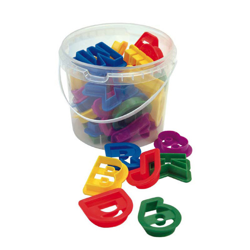 Dexam Letters & Numbers Cookie Cutter Set