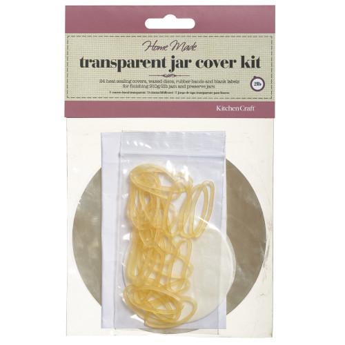Pack of 24 Jam Jar Covers