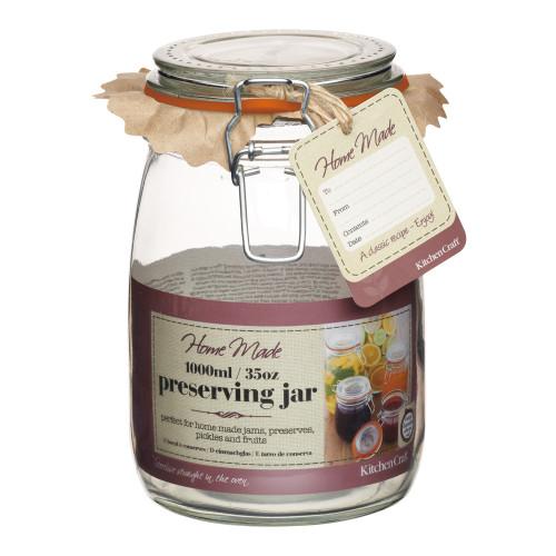 1 Litre Preserving Jar