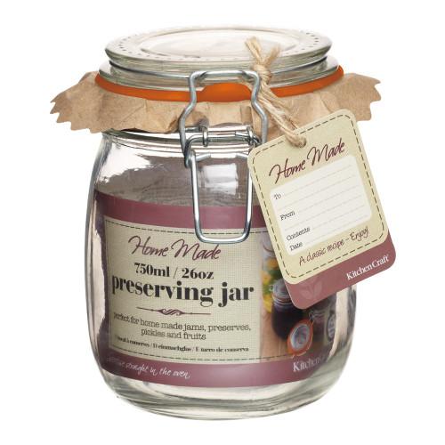750ML Preserving Jar