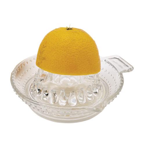 Kitchencraft Glass Citrus Juicer Lemon Squeezer