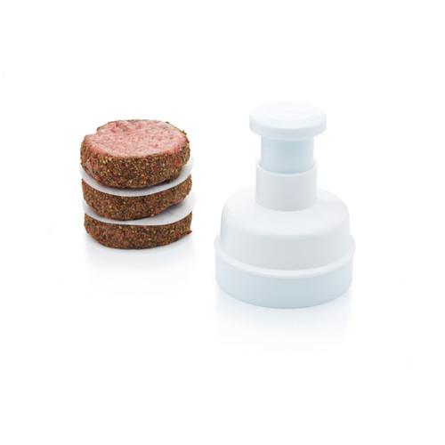 KitchenCraft Hamburger Maker With 100 Wax Discs