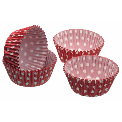 Kitchencraft Pack of 60 Cupcake Cases - Polka Dot