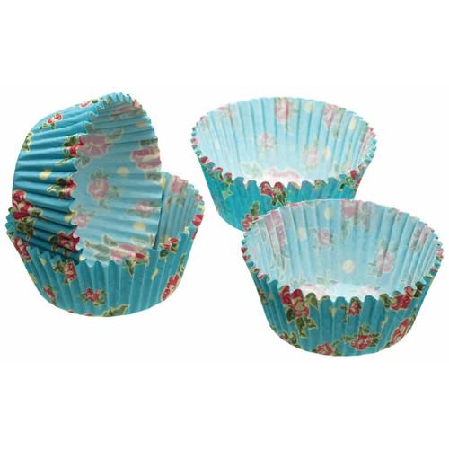 Kitchencraft Pack of 60 Cupcake Cases - Vintage Rose