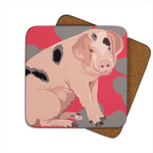 Coaster - Pig