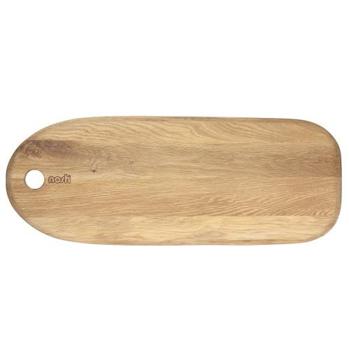 Nosh Oak Surf Serving and Chopping Board - 55 x 21cm