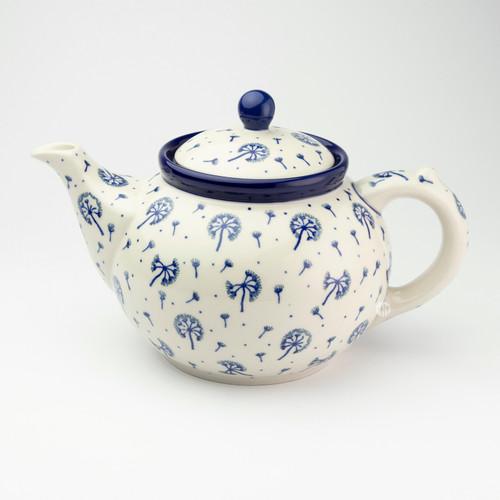Polish Pottery 1.2 Litre Teapot Dandelion