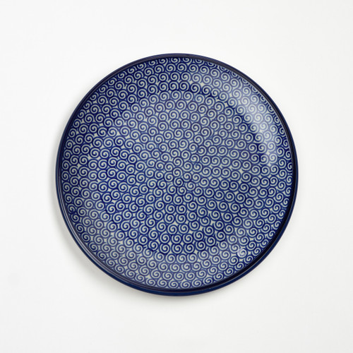 Polish Pottery 20cm Plate - Doodle