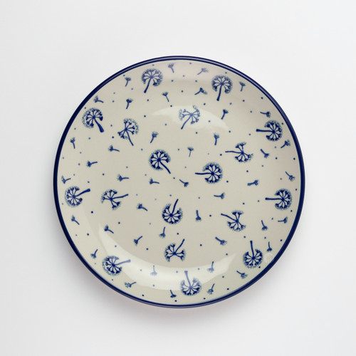 Polish Pottery 20cm Plate Dandelion