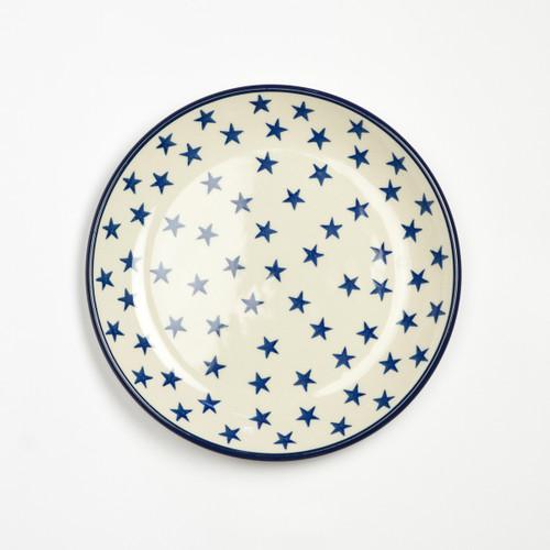 Polish Pottery 20cm Plate Morning Star