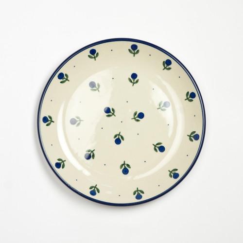 Polish Pottery 20cm Plate Sloeberry