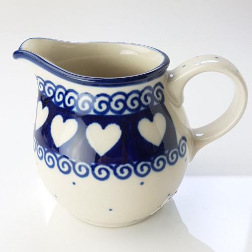 Polish Pottery Creamer - Light Hearted