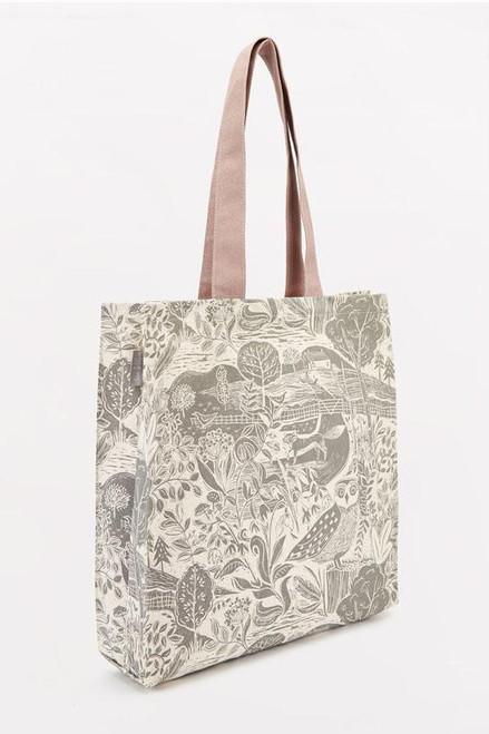 Sam Wilson Owl and Fox Canvas Bag