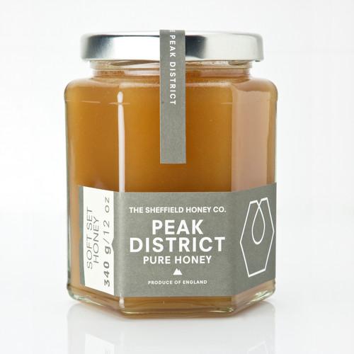 Sheffield Honey Company Peak District Softset Honey - 12oz/340g