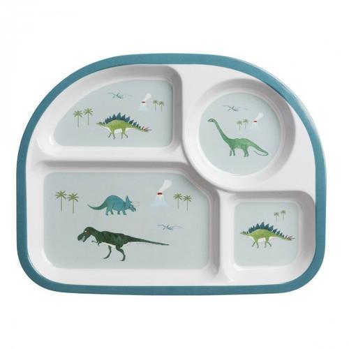 Dinosaur Kids Divider Plate