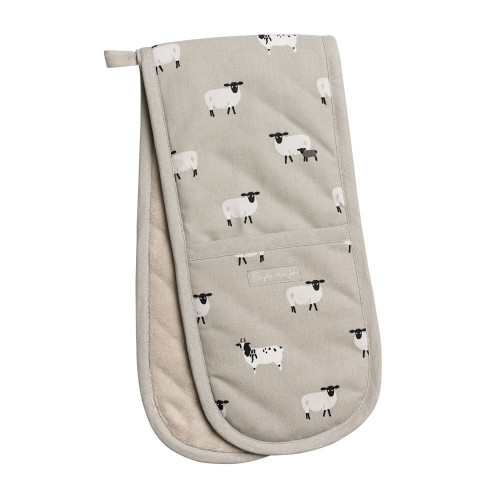 Sheep Double Oven Glove