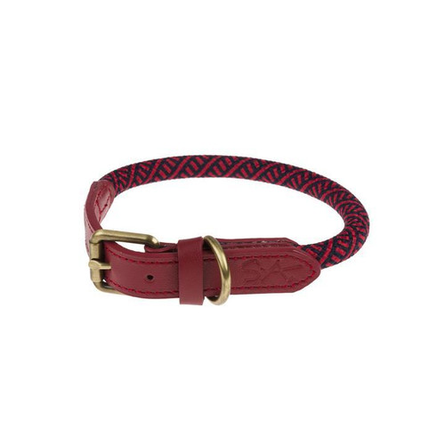 Red Rope Collar Small