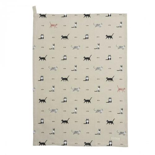 Purrfect Cats Tea Towel
