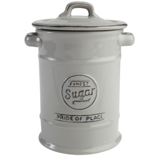 T&G Woodware Pride Of Place Sugar Jar Grey