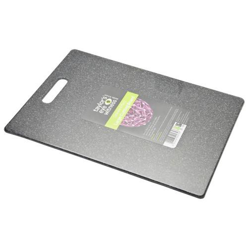 Taylors Eye Witness Large Plastic Chopping Board Granite Effect (36cm x 28cm)