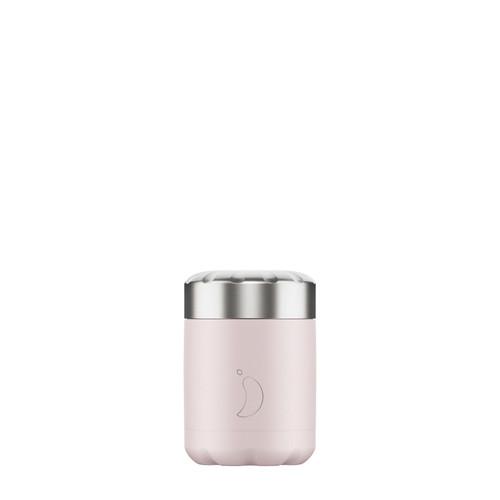 Chillys Food Pot 300ml Blush Pink