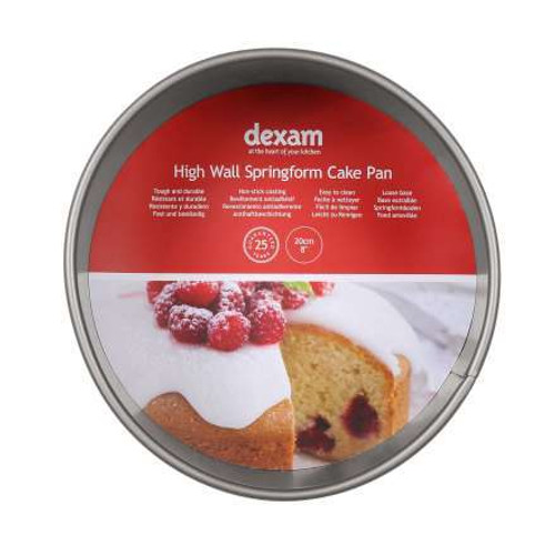 Dexam High Wall springform Cake Tin 8 inch
