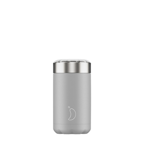 Chillys Food Pot 500ml Monochrome Grey
