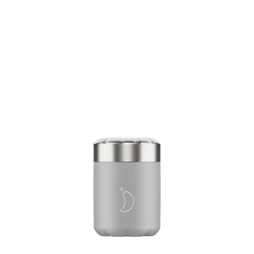 Chillys Food Pot 300ml Monochrome Grey