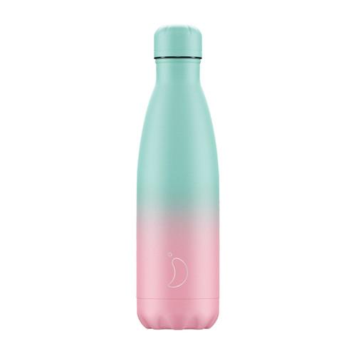 Chillys Bottle 500ml Gradient Pastel