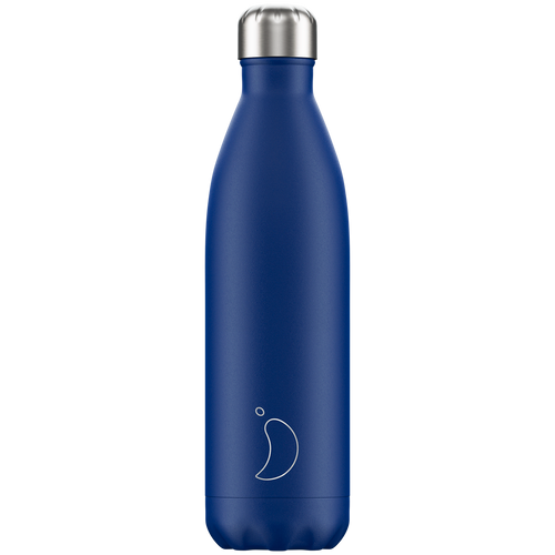 Chillys Bottle 750ml Matte Blue
