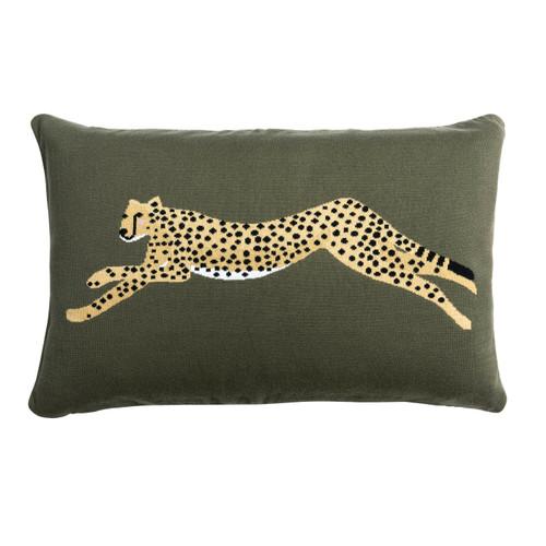 Statement Cushion - Cheetah
