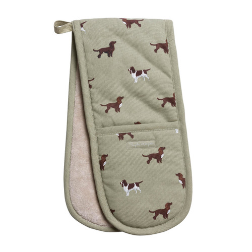 Double Oven Glove - Spaniels