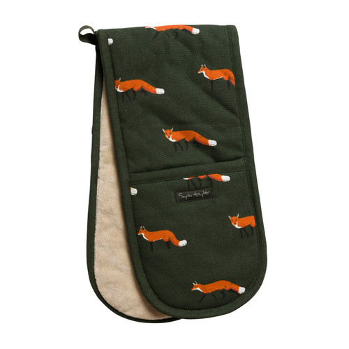 Foxes Double Oven Gloves