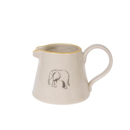 Stoneware Mini Jug - Elephant