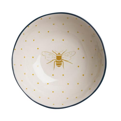 Stoneware Nibbles Bowl - Bees