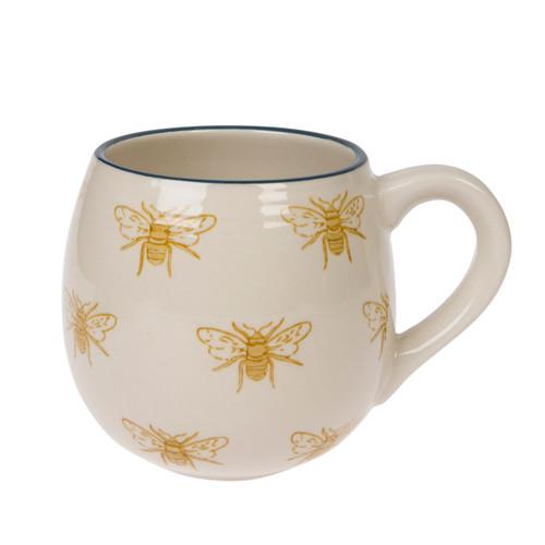 Stoneware Mug - Bees