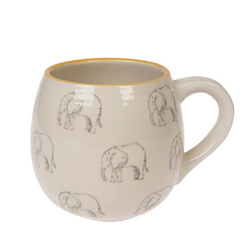 Stoneware Mug - Elephant