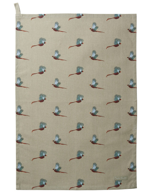 Pheasant Tea Towel