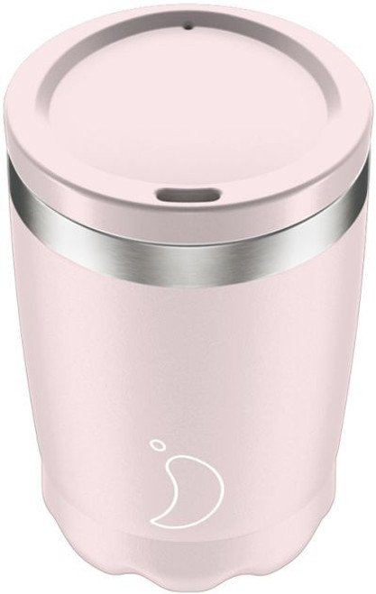 Chillys 340ml Blush Pink Coffee Cup